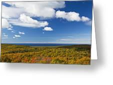 Summit Peak Autumn 8 Greeting Card