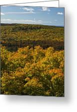 Summit Peak Autumn 9 Greeting Card
