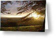 Sun Almost Up Greeting Card