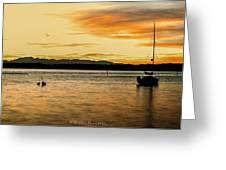 Sun Kissed Sky Greeting Card by Sarai Rachel