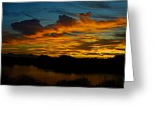 Sun Kissed Sky  Greeting Card