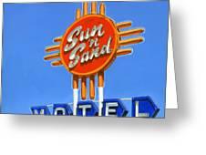 Sun 'n Sand Greeting Card