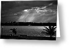Sun Over Brasilia Greeting Card