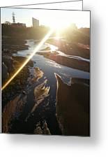 Sun Ray Greeting Card by David Alvarez