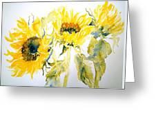 Sun Sisters Greeting Card