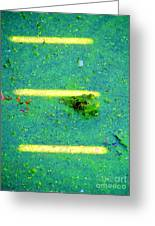 Sun Spots Greeting Card by Art Dingo