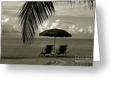 Sunday Morning In Key West Greeting Card