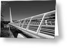 Sundial Bridge One Greeting Card