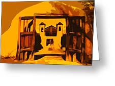 Sundown Chimayo Greeting Card