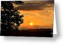Sundown In Ellijay Greeting Card