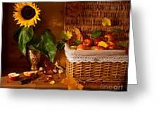 Sunflower - Still Life Greeting Card