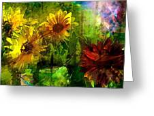 Sunflower 4 Greeting Card
