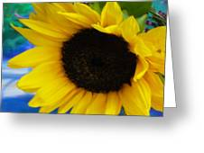 Sunflower Too Greeting Card