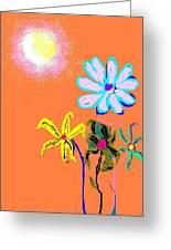Sunflowered 3 Greeting Card