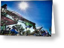 Sunny At The Fair Greeting Card by Dan Crosby