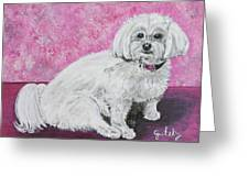 Sunny Greeting Card by Paintings by Gretzky