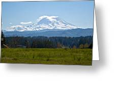 Sunny Rainier Greeting Card