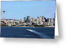 Sunny Seattle Greeting Card