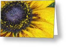 Sunny Yellow Greeting Card