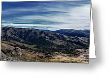 Sunol-flag Hill Greeting Card