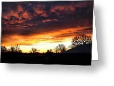 Sunrise 01 05 12 Greeting Card