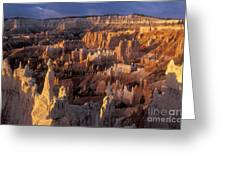 Sunrise At Brice Canyon Amphitheatre Greeting Card