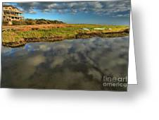 Sunrise At Brooks Island Refuge Greeting Card