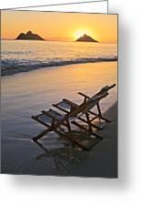 Sunrise At Lanikai Greeting Card