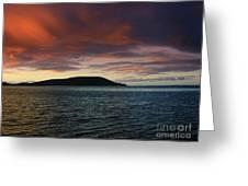 Sunrise At Portlock Greeting Card