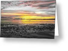 Sunrise At Sea 2 Greeting Card