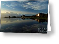Sunrise At The Outer Banks Greeting Card