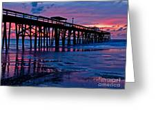 Sunrise At The Pier 2 Greeting Card
