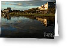 Sunrise At The Shore Greeting Card
