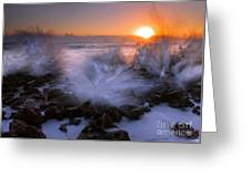 Sunrise Explosion Greeting Card