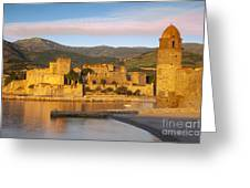 Sunrise In Collioure Greeting Card