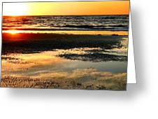 Sunrise In Jekyll Island Greeting Card
