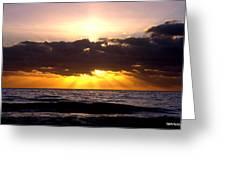 Sunrise Obx Greeting Card