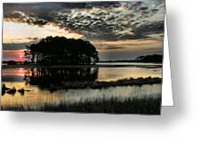 Sunrise On Assateague Greeting Card