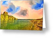 Sunrise On Lake Powell Greeting Card