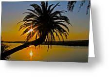 Sunrise On The Loop Greeting Card