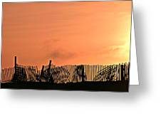 Sunrise On The Outer Banks Greeting Card