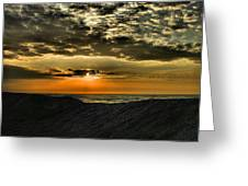 Sunrise Over Assateague II Greeting Card
