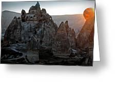 Sunrise Over Cappadocia Greeting Card