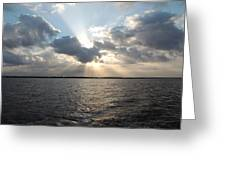 Sunrise Over Keaton Beach Greeting Card