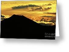 Sunrise Over Maui Greeting Card