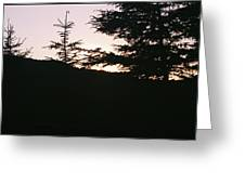 Sunrise Over Mt Still Greeting Card