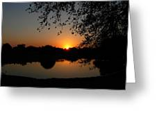 Sunrise Over Paradise  Greeting Card