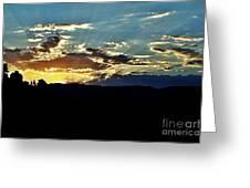 Sunrise Over Sedona Az Greeting Card