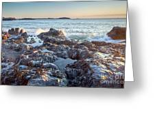 Sunrise Rocks Greeting Card