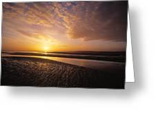 Sunrise, Sandymount Strand Dun Greeting Card